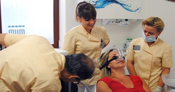 sedacion consciente en la clinica dental de la bañeza del dr. mariano hernandez