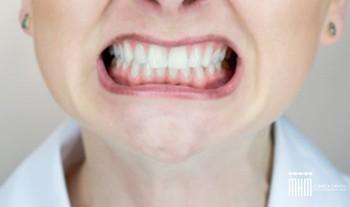 estrés en la boca