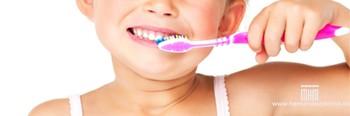 el cepillado dental de los mas peques