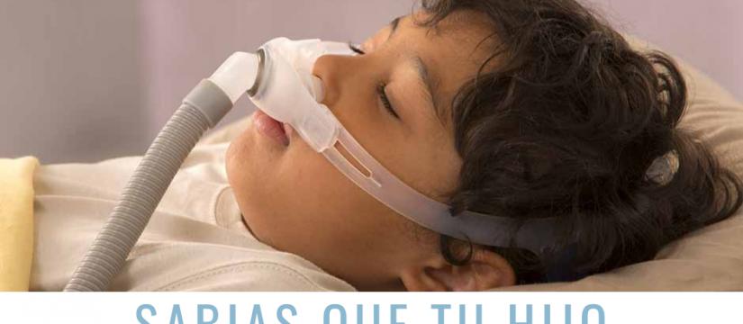 la apnea del sueños en los niños
