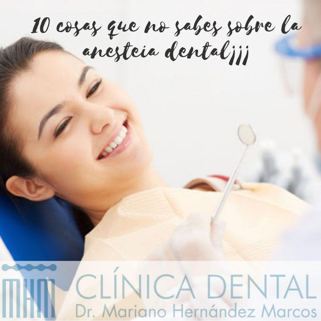 la anestesia dental