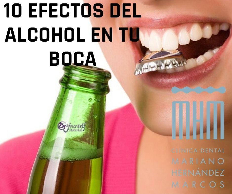 eel alcohol y la salud dental